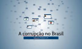 A corrupção no Brasil