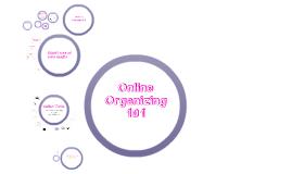 Online Organizing 101