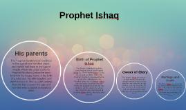 Prophet Ishaq