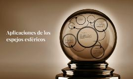 Copy of Aplicaciones de espejos esféricos