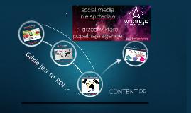 Chamlety 2013 Social Media nie sprzedają