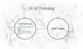LEAF Training