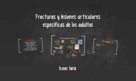 Copy of Fracturas y lesiones articulares