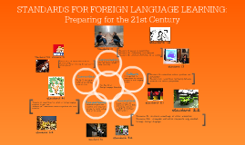 Copy of STANDARDS FOR FOREIGN LANGUAGE LEARNING: Preparing for the 21st Century