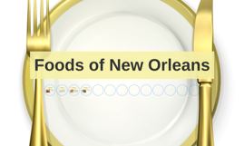 Foods of New Orleans