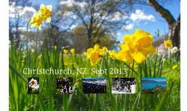 Christchurch, NZ Sept 2013