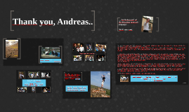 Thank you, Andreas!