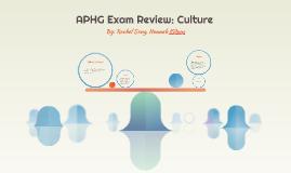 APHG Exam Review: Culture