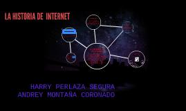 LA HISTORIA DE EL INTERNET