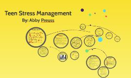 Teen Stress Management