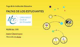 Copy of FALTAS DE LOS ESTUDIANTES