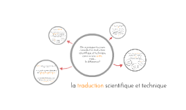 la traduction scientifique-technique