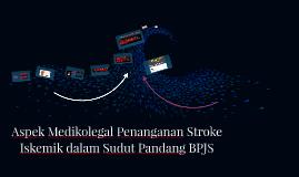 Aspek Medikolegal Penanganan Stroke Iskemik dalam Sudut Pand