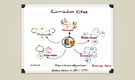 Copy of CV Overview by Filipa Teixeira