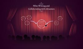 CT5SCRIP Wk9: CT5SCRIP Wk9: Working with Directors