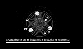 Aplicações da Lei de Bernoulli
