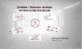 Jornalismo e Quadrinhos: estratégias narrativas em Safe Area