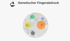 Genetischer Fingerabdruck