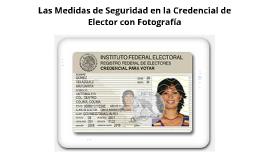 elementos de seguridad en la credencial para votar