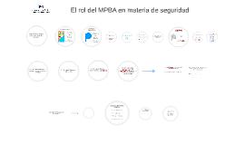 El rol del MPBA en materia de seguridad