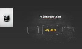Mr. Schulenborg's Class
