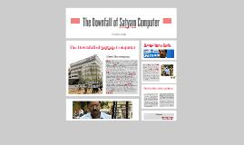 The Downfall of Satyam Computer