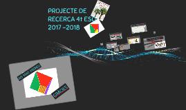 PROJECTE DE RECERCA 4t ESO
