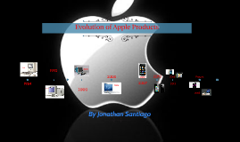 Evoulution of Apple products