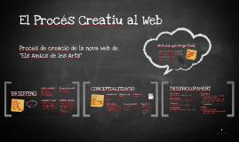 El Procés Creatiu al Web