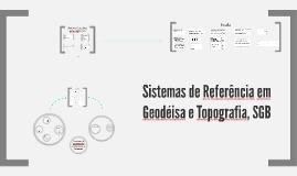 Sistemas de Coordendas, SGB e Escala