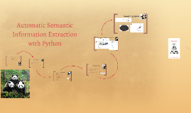 Automatic Semantic Information Extraction
