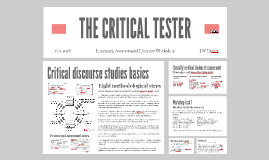 THE CRITICAL TESTER