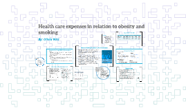 Health care expenses in relation to obesity and smoking