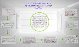 Copy of FASES DE DESARROLLO DE LA PSICOLOGÍA SOCIAL EN AMERICA LATIN