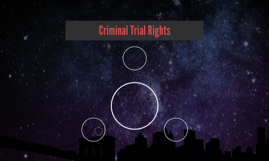 Criminal Trial Rights