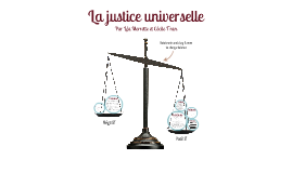 La justice universelle