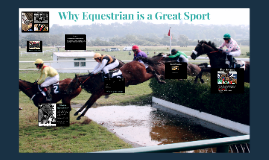 Why Equestrian is a Great Sport