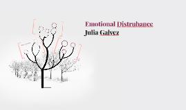 Emotional Distrubance