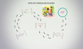 GUÍA DE TAREAS ESCOLARES