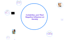 Copy of Celebrities; their Negative Influence on Society