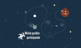 Misión: participación