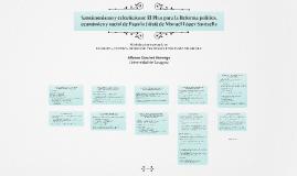Sansimonismo y eclecticismo: El Plan para la Reforma política, económica y social de España (1838) de Manuel López Santaella