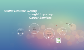 Copy of Copy of Resume Workshop with CL