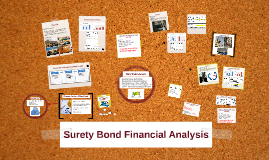 Copy of Surety Bond Financial Analysis