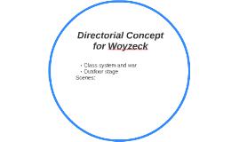 Directorial Concept for Woyzeck