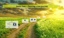Junior Year -- Planning a new journey