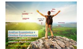 Análise Econômica e Direitos Fundamentais