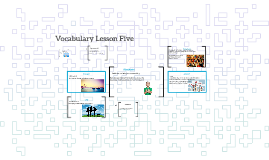 Vocabulary Lesson Five