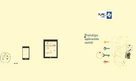 Copy of Prototipo aplicación móvil