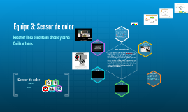 Copy of Equipo 3: Sensor de color